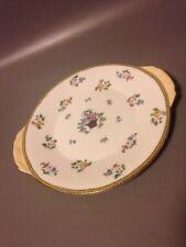 Aynsley cake plate vintage Art Deco Earred Sandwich