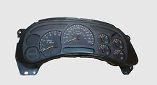 03-06 Silverado Sierra Tahoe Yukon Instrument Gauge Cluster Speedometer Reman!