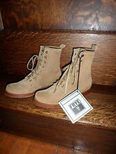 Frye Woman's Veronica Lace Up Combat Boot - Camel Oiled Suede, Size- 5 1/2 NEW