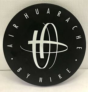 """Vintage Early 1990s 10"""" Nike Store Display Sign Air Huarache Double-Sided"""