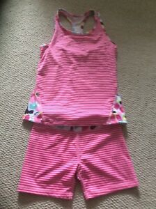Gymboree Girls Active Wearshorts And Tank Size 10-12