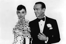 Funny Face Audrey Hepburn Fred Astaire Glamorous Portrait 11x17 Mini Poster