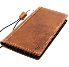 genuine retro leather Case for apple iphone 7 book wallet cover holder handmade