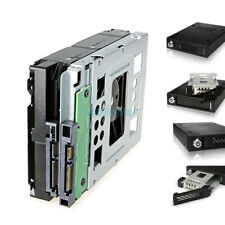 """2* 2.5"""" to 3.5"""" Adapter SAS SATA SSD HDD 654540-001 Tray Caddy for HP N54L G7 G6"""