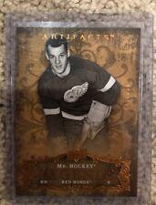 Gordie Howe Red WIngs Numbered /999 Card 2008-09 Upper Deck Artifacts NHL Hockey