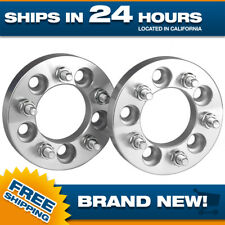 Wheel Adapters 5x4.5 to 5x4.75 - Set of 2 - 12x1.5 Studs - 1.25 inch - Set of 2