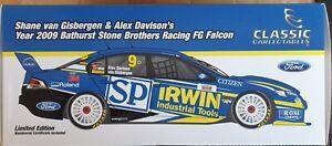 Shane Van Gisbergen & Alex Davison 1:18 Bathurst Stone Brothers Racing FG Ford
