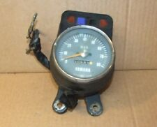 1970`s Early Yamaha YB 100 Clock YB100 Clock Speedo