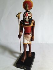 RA Figura Dios Antiguo Egipto 10-15 cms Resina pintado a mano Faraón Pharaoh