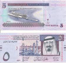 Saudi Arabien / Saudi Arabia - 5 Riyals 2012 UNC - Pick 32c