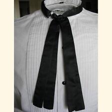 Men's Western Black Double Panel Doc Holliday Tie