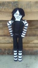 Laughing Jack Creepypasta Rag Primitive Cloth Doll Horror Monster teddy