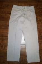 Nautica Mens Size 32 X 30 Classic Twill Chinos Flat Front Pants NWT