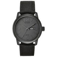 Men's Citizen Eco-Drive® Military-Inspired Black Out Watch (Model: BM8475-00F)