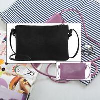 Women Clutch Soft  Leather Mini Messenger Bag Crossbody Shoulder Bags Wallet