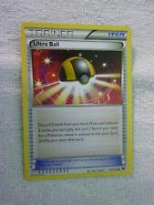 Carte pokémon trainer ultra ball 113/124 peu commune carte anglaise