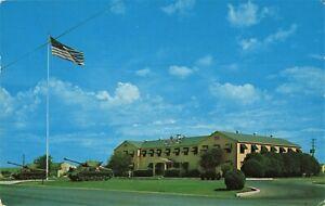 Postcard Headquarters Administration Building Fort Hood Texas TX
