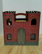 Handmade Wooden Castle Diorama Playset / Customized