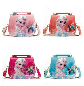 2021 New Frozen Cartoon Handbags Shoulder Bags Wallet Purse For Kids Girls Gift