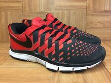on sale 0048e 1f672 RARE🔥 Nike Free Trainer 5.0 Weave Fingertrap Black Red White Sz 12  579809-601