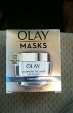 Olay Firming Overnight Gel Face Mask Vitamin A  50mL 1.7 oz