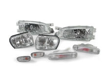 DEPO CLEAR HEADLIGHT+CORNER+BUMPER+SIDE LIGHTS FIT FOR 1993-1998 SUBARU IMPREZA