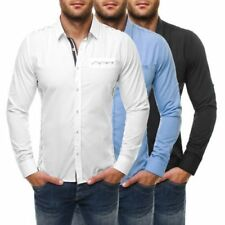 Camisas y polos de hombre de manga larga 100% algodón talla XL