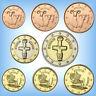 KMS Kursmünzensatz ZYPERN # 1 Cent - 2 Euro Kursmünzen (3,88€) # Jahr wählen