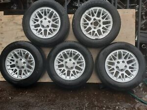 """5 x JEEP GRAND CHEROKEE WG WJ 17"""" ALLOY WHEELS WITH TYRES 235/65R17 5x127"""
