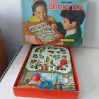 Vintage Merit Remote Control Driving Test Game - Vintage Magnetic Car Game