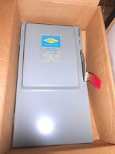 ZINSCO American SAFETY SWITCH 60A NEW HD663 3 POLE Surface Enclosure Main Lug