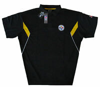 Pittsburgh Steelers NFL Men's Team Conference Stadium Big & Tall Golf Polo Shirt