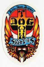 Dogtown Skateboards Old School Skateboard Sticker - Official skate surf board