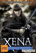 Xena - Warrior Princess : Series 5 (DVD, 2004, 6-Disc Set)