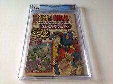 Tales To Astonish 65 Cgc 5.5 New Giant Man Hulk Jack Kirby 1965 Marvel Comics