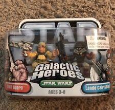 Star Wars GALACTIC HEROES : SKIFF GUARD and LANDO CALRISSIAN new