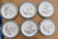 Denby Romance   Plates 7.25  Inch set of 6        £24.99 ( Post Free UK )