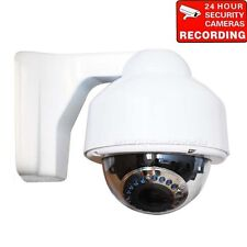 Security Camera Dome Outdoor IR Day Night Varifocal Lens Home Surveillance BDZ