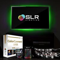 (4) 5-Inch LED Strips Home Theater TV BackLight Bias Accent Lighting Multi-Color