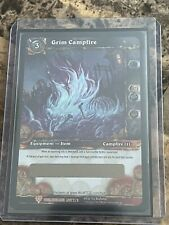 World of Warcraft Unscratched Loot Card: Grim Campfire