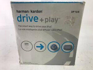 Harmon Kardon Drive+Play IPod Car Audio System DP1US LCD Wireless NEW