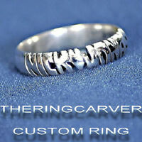 Personalized Sterling Silver Name Ring / Promise ring
