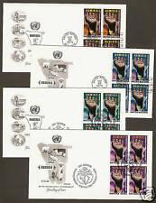 UN NY#263-64/Geneva 53-54 Namibia Set of 4 Artmaster  B4FDCs