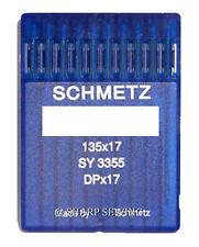 10 SCHMETZ 135X17 #23 SEWING MACHINE NEEDLES fits SAILRITE BIG-N-TALL
