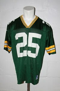 VTG Adidas Green Bay Packers Dorsey Levens #25 Football Jersey Sz L Large