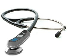 NEW ADC Adscope Model 658 Black Electronic Digital Amplified Stethoscope
