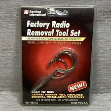 Factory Radio Removal Tool Set. Urt 483 Cl 1986 & Up, Ford, Lincoln, Mercury.