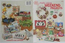 Plastic Canvas Weekend Projects Book #3042 by American School Of Needlework