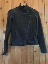 Woman's Athleta Moto Jacket Green Size XXS