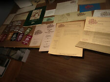 Rare 1978 1st Legends of Golf Tournament Memorabilia Lot Program Badges Ribbons